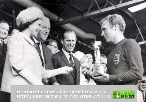 La Copa Jules Rimet fue robada dos veces en su historia. Su paradero actual sigue siendo una incognita
