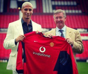 Rio Ferdinand fichaje Manchester United