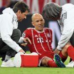 Las lesiones, el mal endémico de Arjen Robben