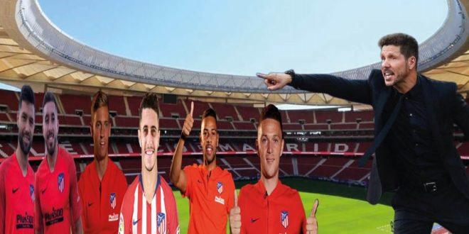 La nueva defensa del Atlético de Madrid