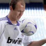 Arjen Robben, fichaje estrella de Ramón Calderón Real Madrid